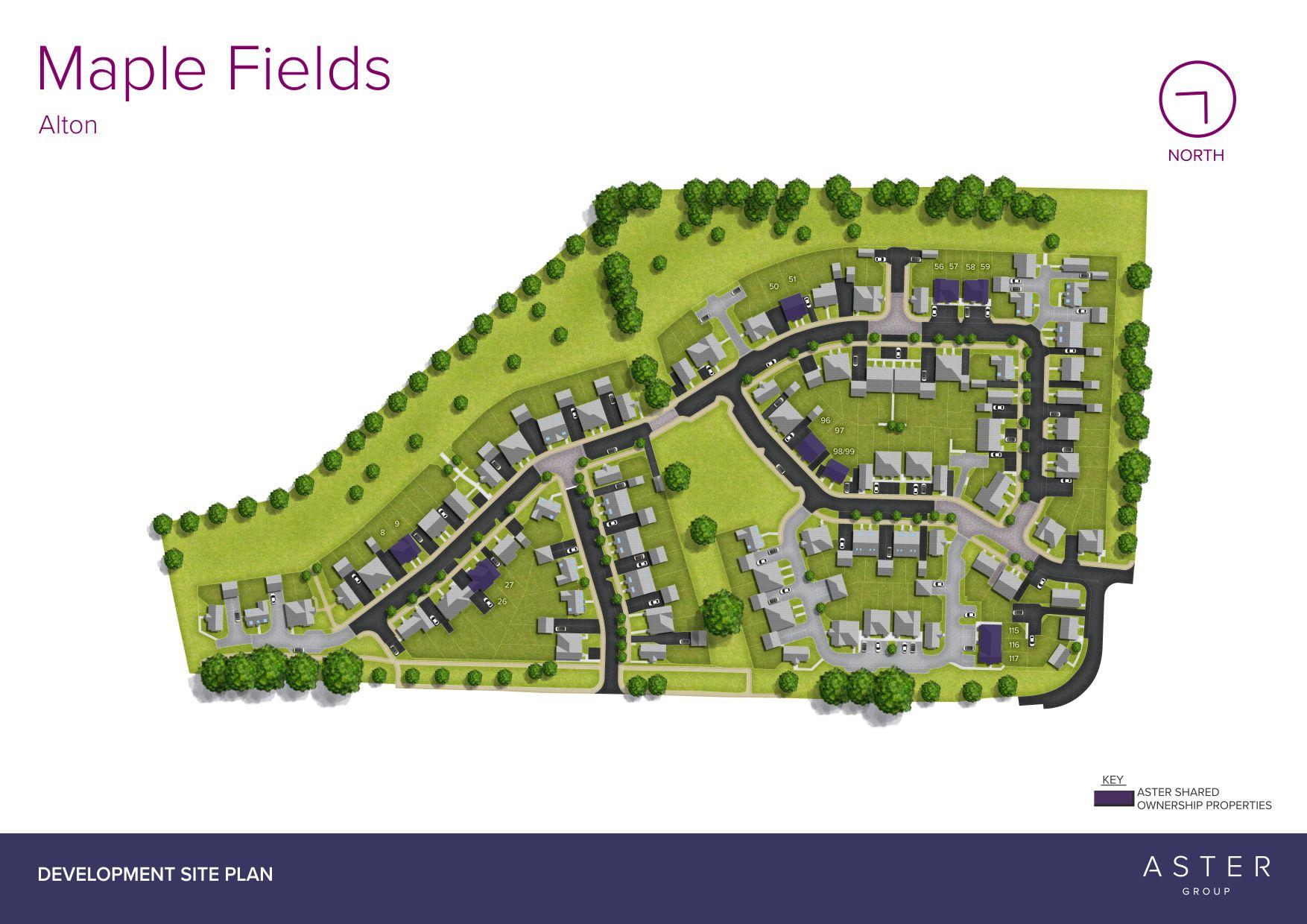 Maple Fields Site Plan