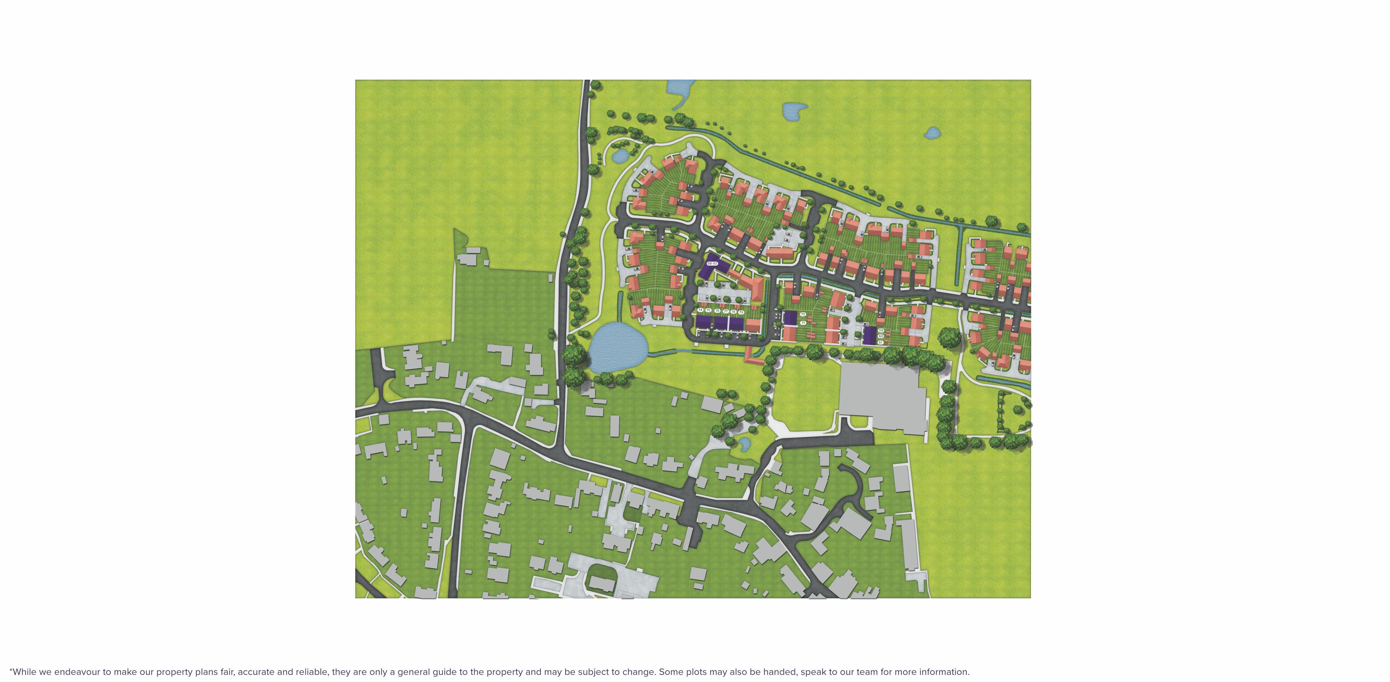 Avisford Grange, Walberton, Site Map 2