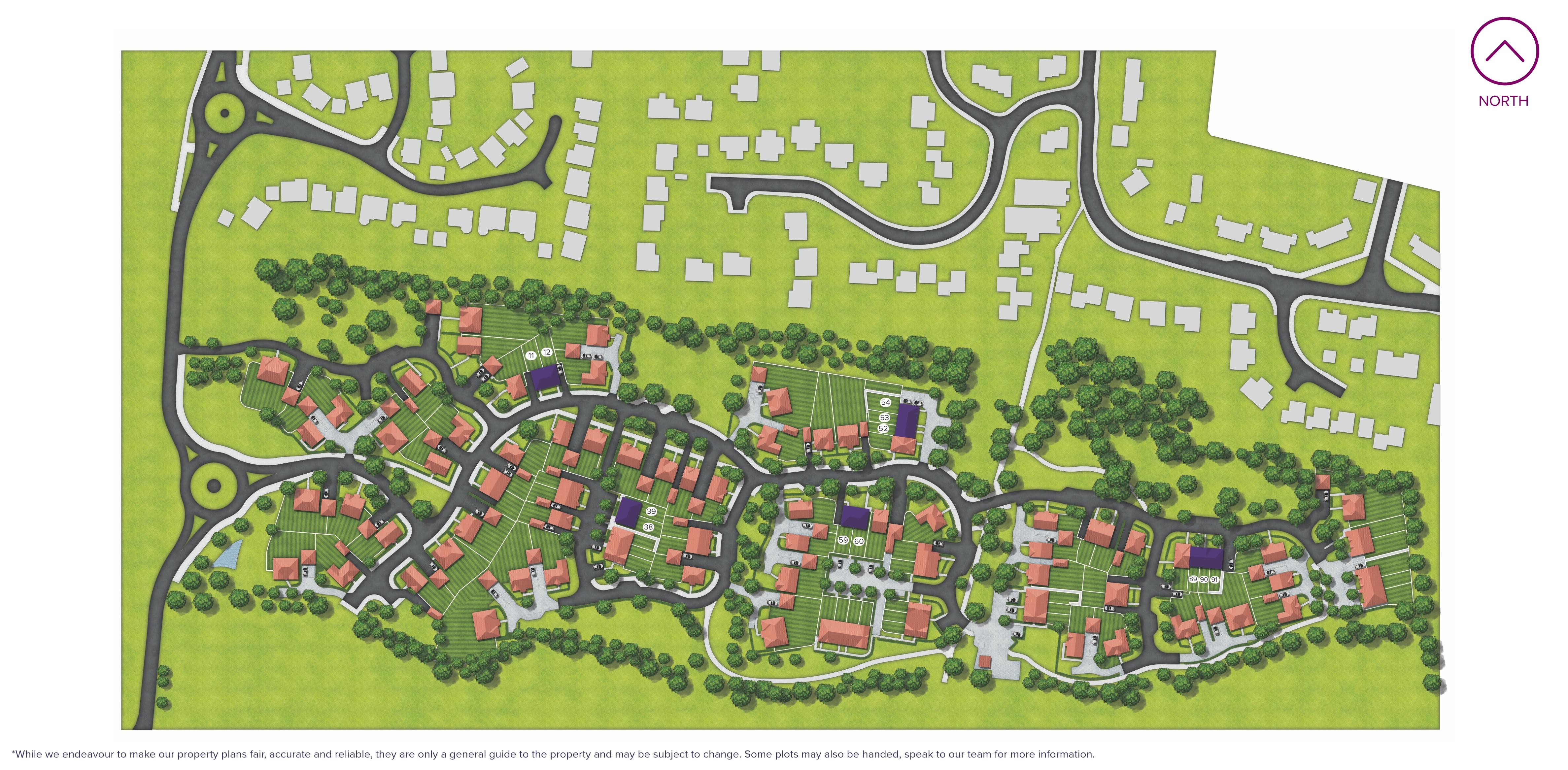 Lancaster Park Site Map