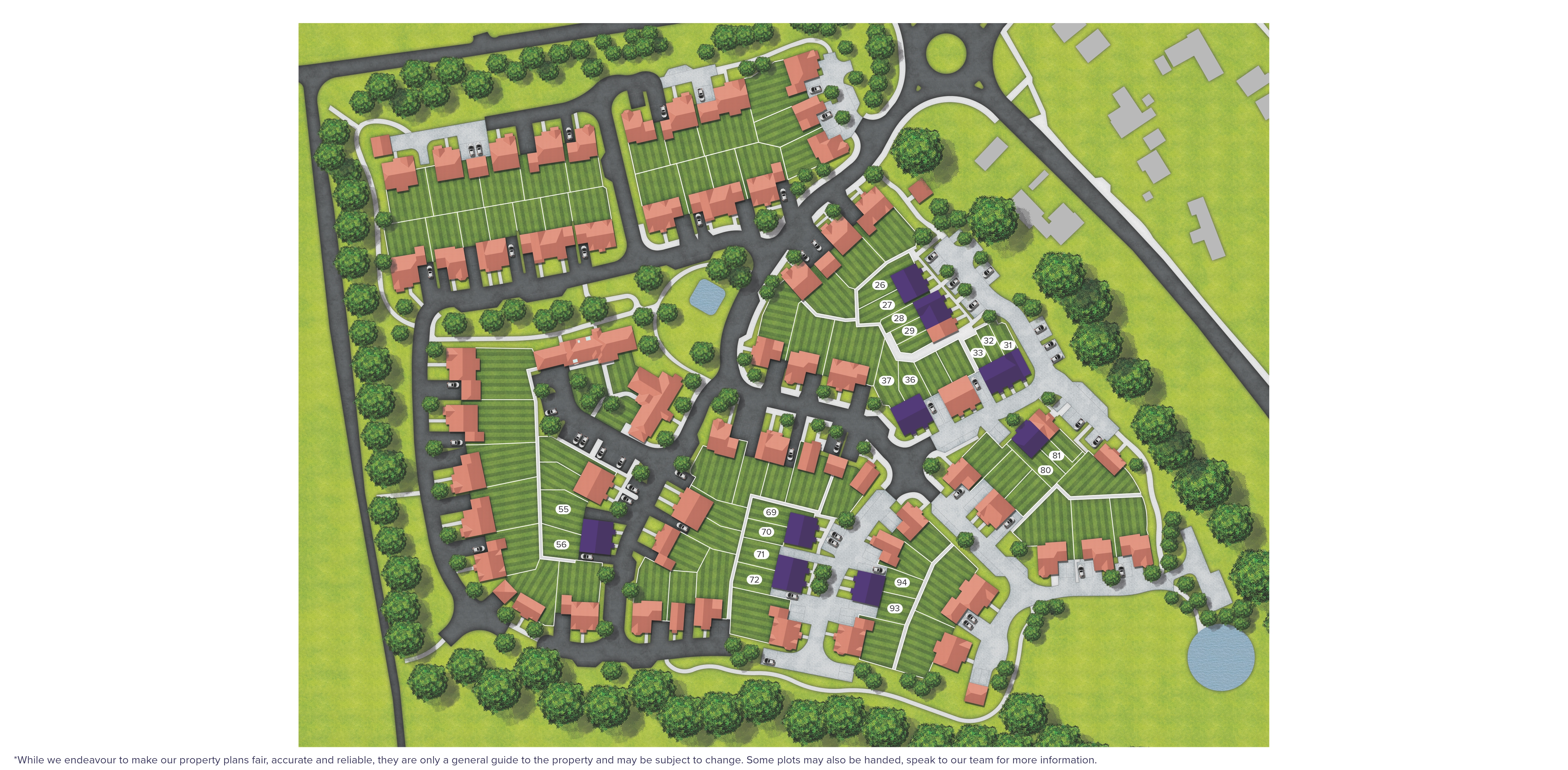 Folly Heights Site Map