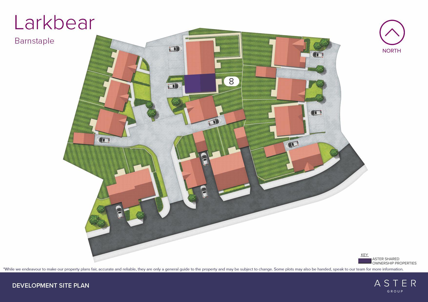 Larkbear site plan