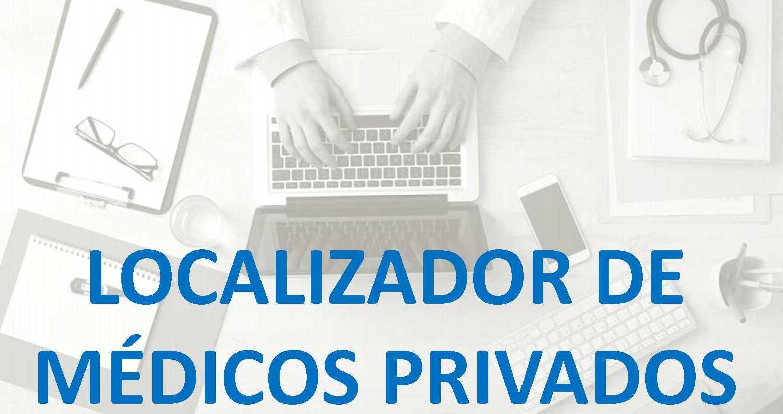 Localizador de médicos privados
