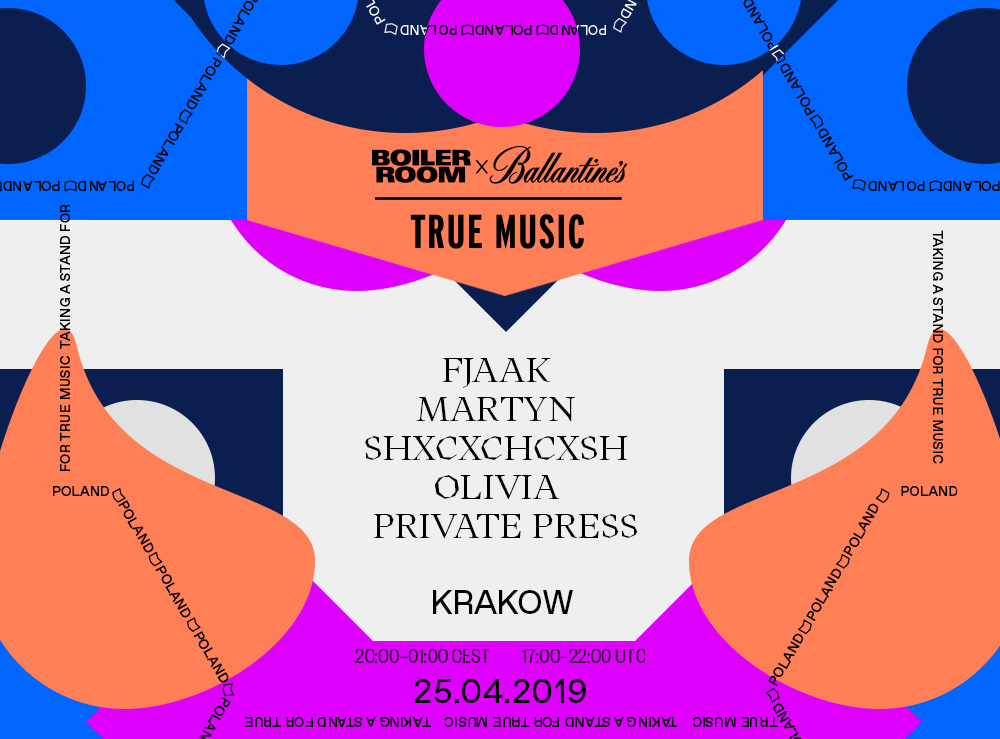 BOILER ROOM X BALLANTINE'S | TRUE MUSIC | KRAKOW