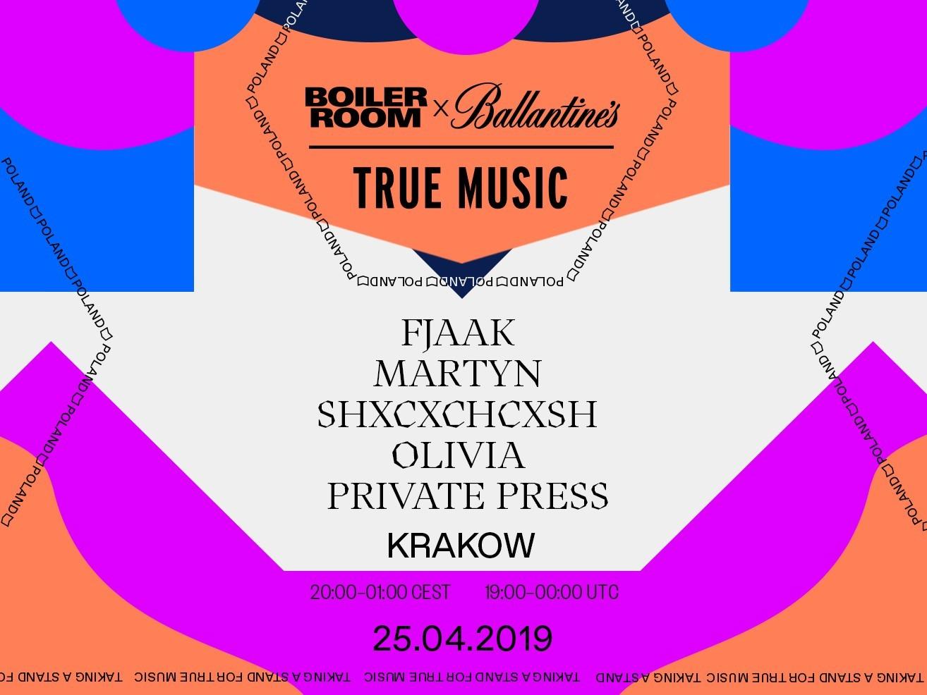 TBOILER ROOM X BALLANTINE'S TRUE MUSIC КРАКІВ