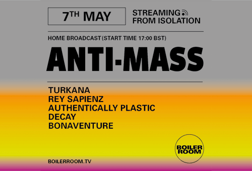 BOILER ROOM X BALLANTINE'S | Streaming from Isolation | ANTI-MASS