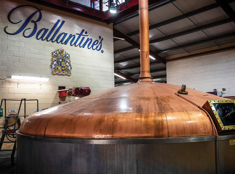 Ballantine's Scotch Whisky Mashing Process