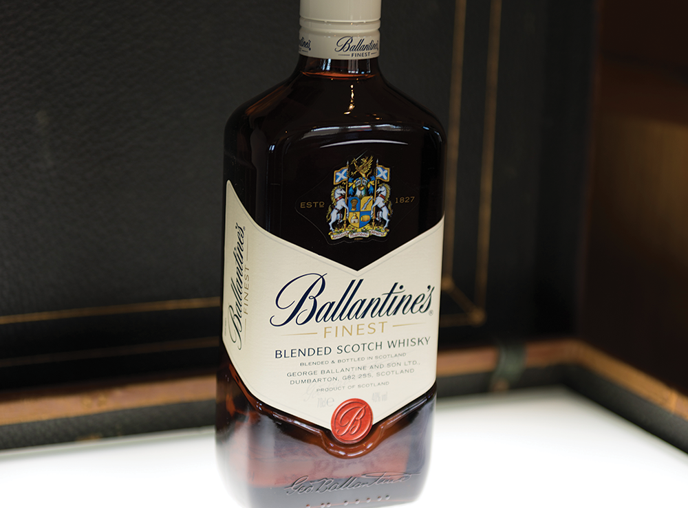 Ballantine's Scotch Whisky Bottling Process