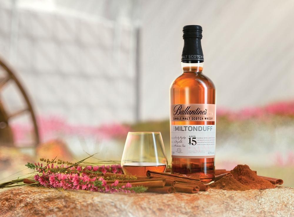 Ballantine's Scotch Whisky   MILTONDUFF