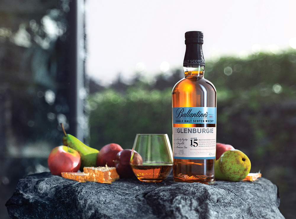 Ballantine's Scotch Whisky   GLENBURGIE