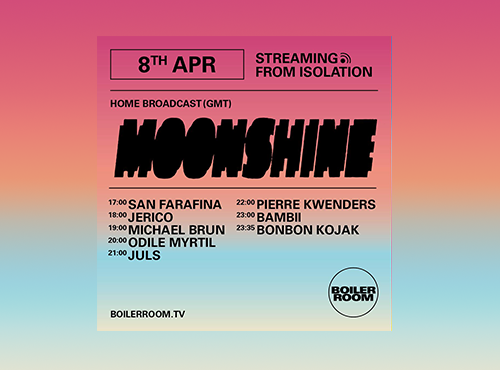 BOILER ROOM X BALLANTINE'S | Streaming from Isolation | Moonshine
