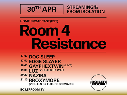 Ballantines   Boiler Room Streaming From Isolation   Room 4 Resistance
