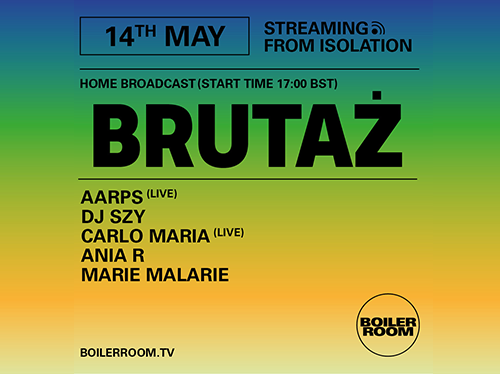 Ballantines | Boiler Room Streaming From Isolation | Brutaz