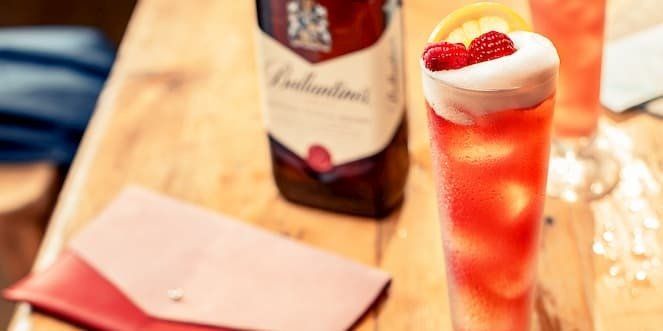 Ballantine's Scotch Whisky Cocktail Sunny Scotland