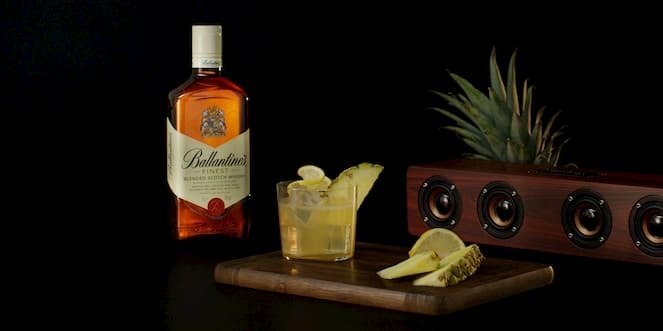 Ballantine's Summer Whisky Cocktail Jungle Sour