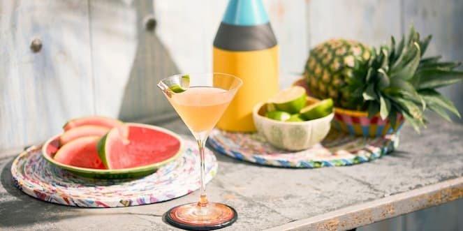 Ballantine's Summer Whisky Cocktail Flower O' Brasil