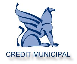Logo de la Crédit Municipal de Bordeaux