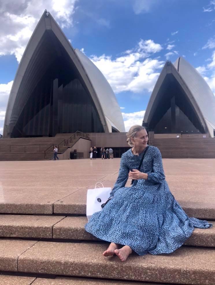 Martine i Sydney
