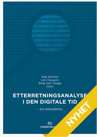 Bok: Etterretningsanalyse i den digitale tid