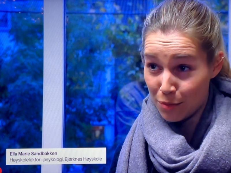 ella marie sandbakken på tv2 nyhetene