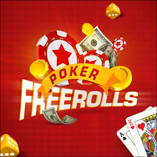 Daily freerolls in our poker room!