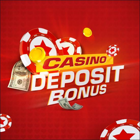 Deposit bonus in our casino!