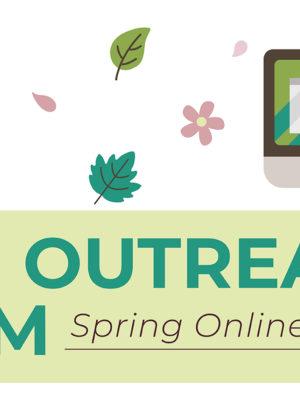 Spring Online Events Web Banner