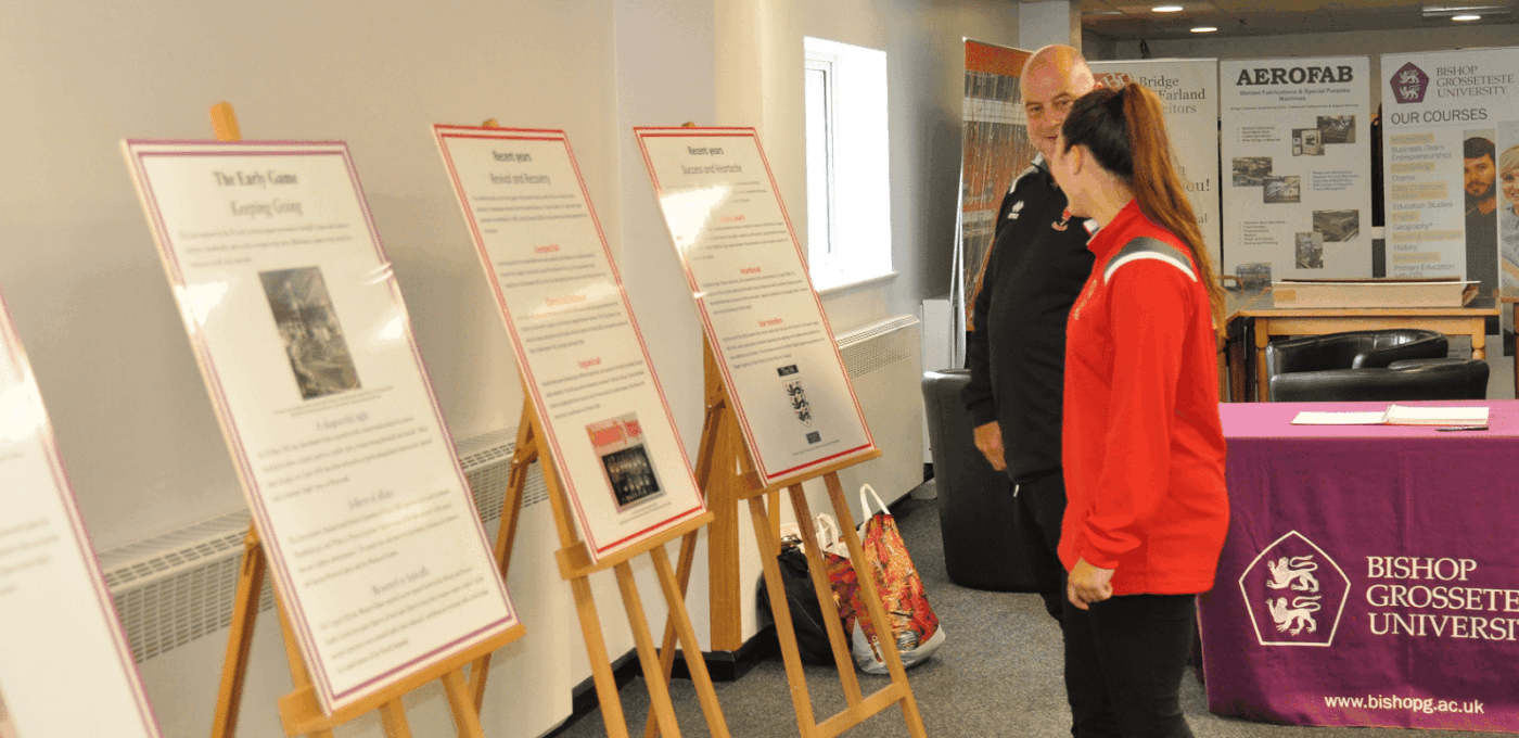 BGU Exhibition and guests