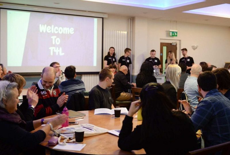 Team 4 learning Business Students event 8