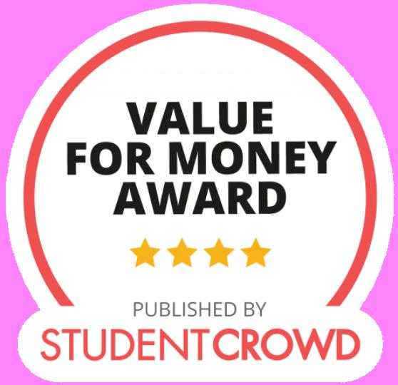 Student Crowd Value for Money award 4 stars 500x484