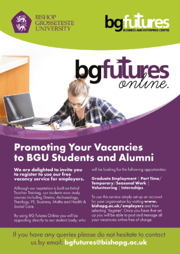Bg Futures Recruiting Talent Flyer