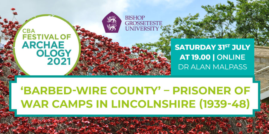 Barbed Wire County Archaeology Talk banner