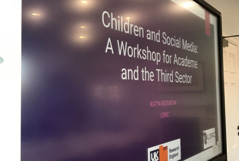 Children social media workshop