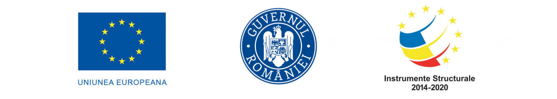 logo UE Guvernul Romaniei Instrumente Structurale