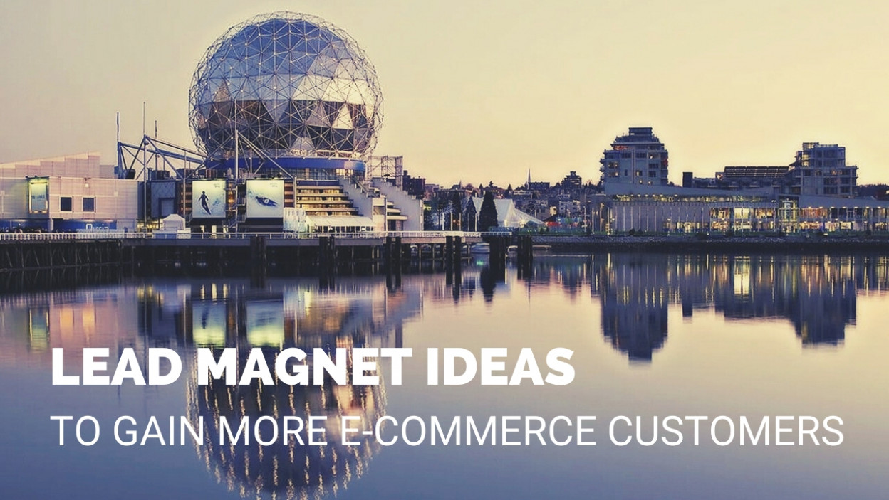9 Actionable Lead Magnet Ideas To Gain More Customers For Your Ecommerce Site Omniconvert Blog