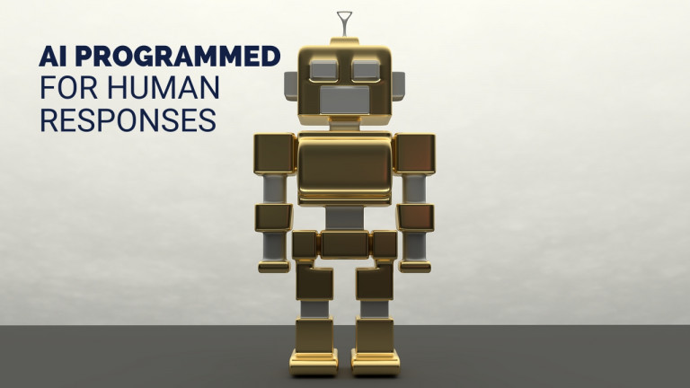 AI Programmed for Human Responses