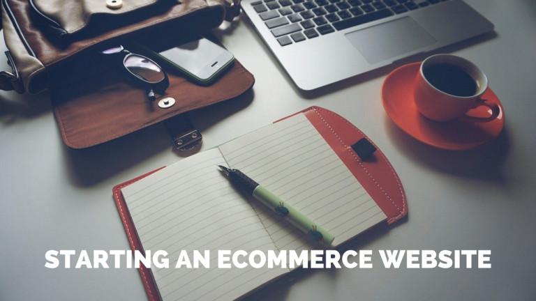 starting an ecommerce website