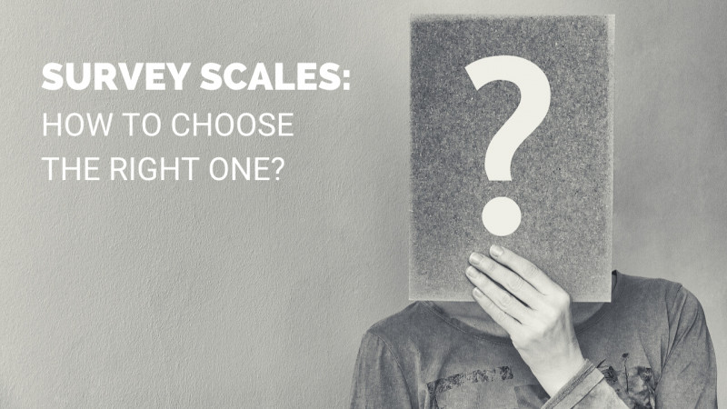 how to choose survey scale