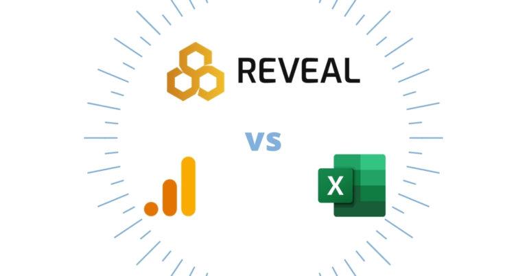 reveal versus excel versus analytics