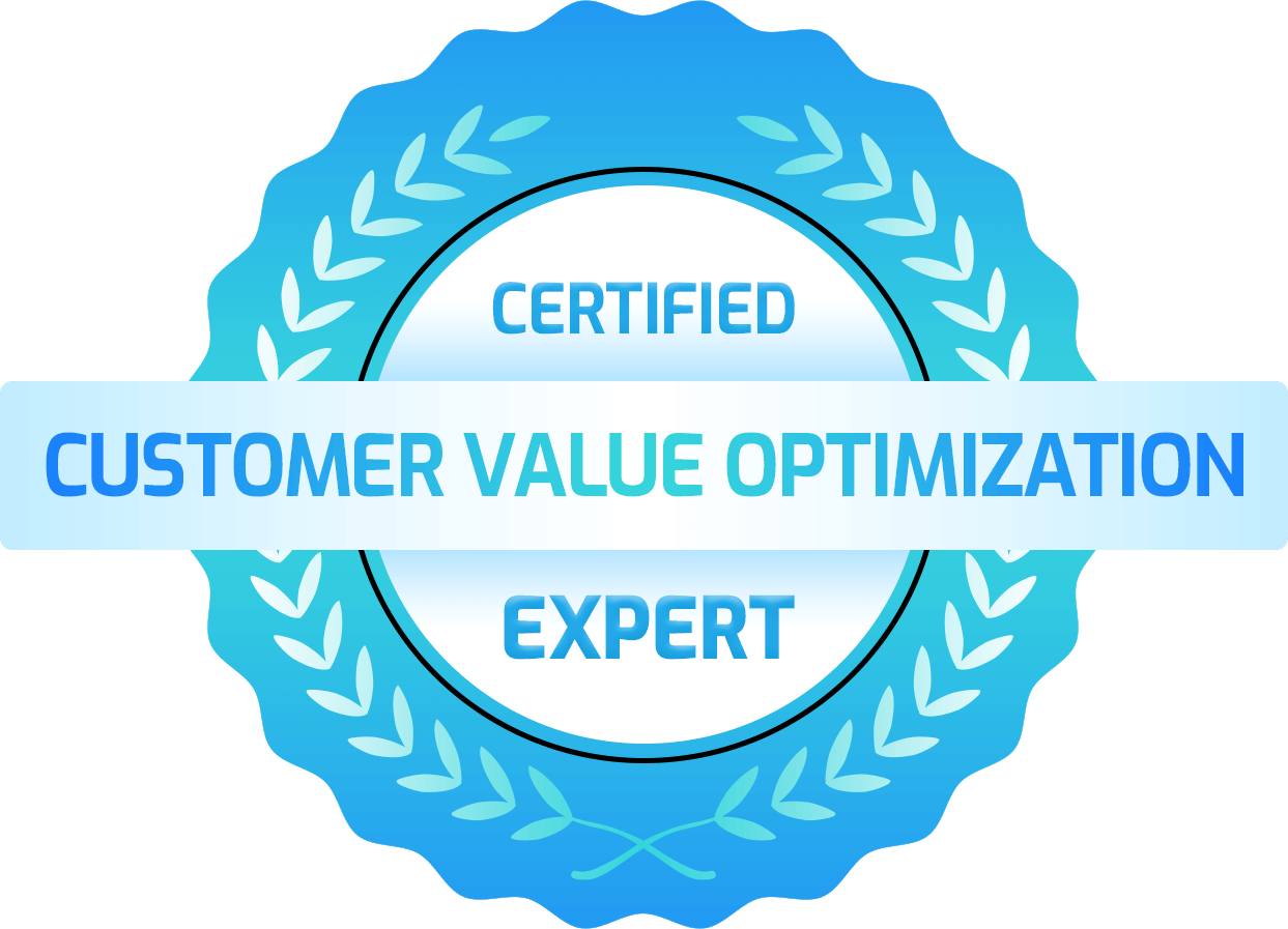 Customer Value Optimization Expert Certification Badge
