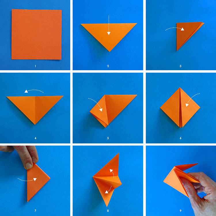 Origami Fox - Origami for Kids - Easy Peasy and Fun | 750x750