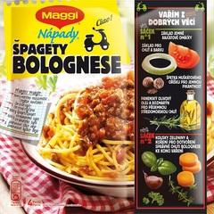 Maggi Nápady Špagety Bolognese