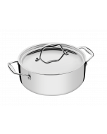 Tramontina - Stainless Steel Casserole, 24 cm, 62823240