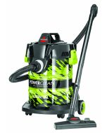 Bissell - Powerclean Professional Wet & Dry Drum Canister Vacuum Cleaner, BISM-2026E