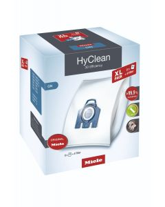Miele - XL HyClean 3D GN dustbags, 4.5 liters (8 bags), 10455000