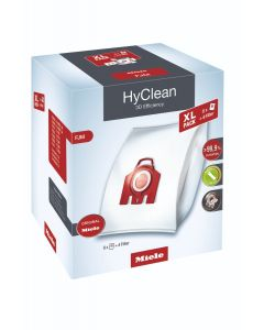 Miele - XL HyClean 3D FJM dustbags, 3.5 liters (8 bags), 10455090
