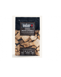 Weber - Hickory Wood Chunks, 1.5 kg, CON_FUE 17619