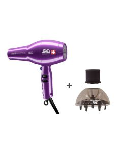 Solis - Swiss Perfection Hair Dryer, Violet, 968.43