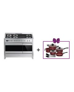 Smeg - Combination Cooker, 120 cm, A3-81