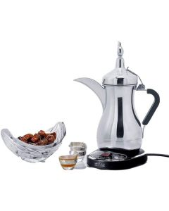 Arzum OKKA - Arab Dalla Electrical Arabic Coffee Maker, Stainless Steel, JLS-170E