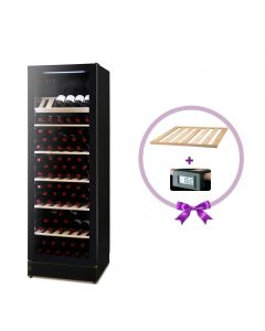Vestfrost - Beverage Cooler, 197 Bottles, WFG185BLACK